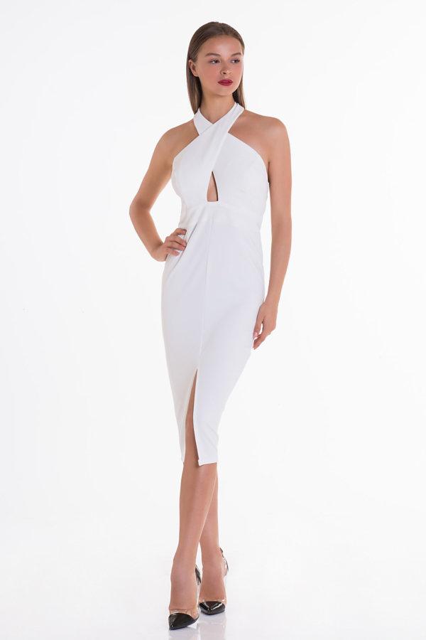 Προσφορές σε φορέματα Free Love Dress λευκό