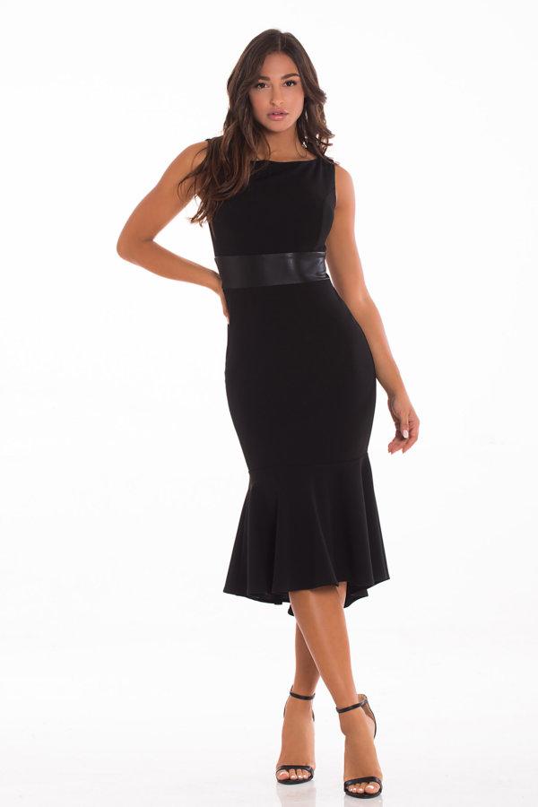 ΜΑΞΙ ΦΟΡΕΜΑΤΑ Mariliza φόρεμα μαύρο