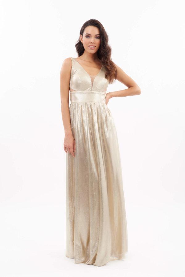 ΜΑΞΙ ΦΟΡΕΜΑΤΑ Hermes φόρεμα χρυσό