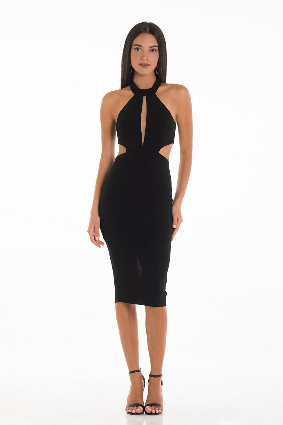 Augira φόρεμα μαύρο
