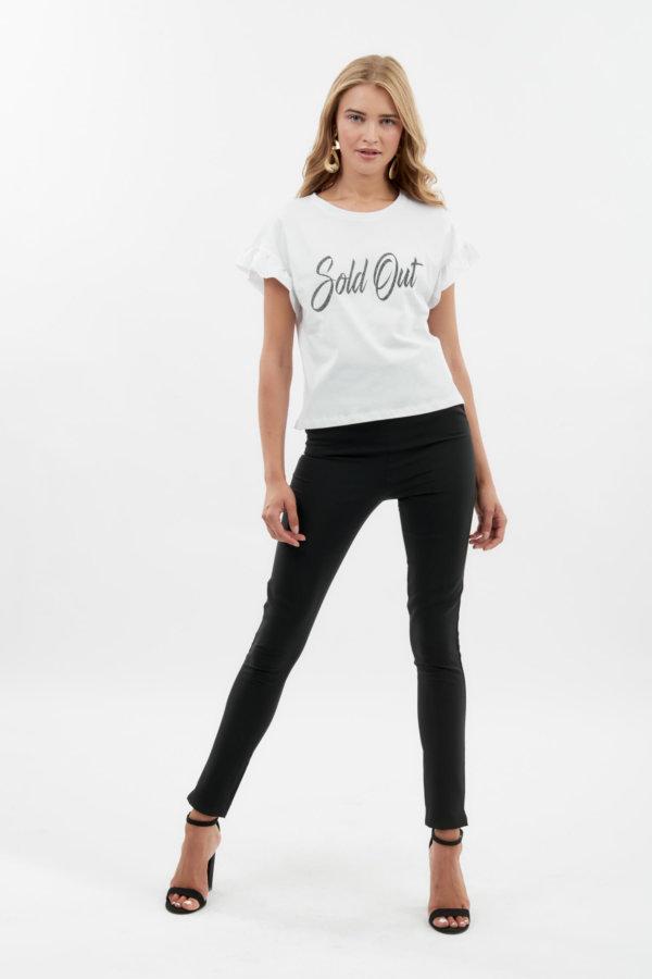 TSHIRTS Elsy t-shirt λευκό