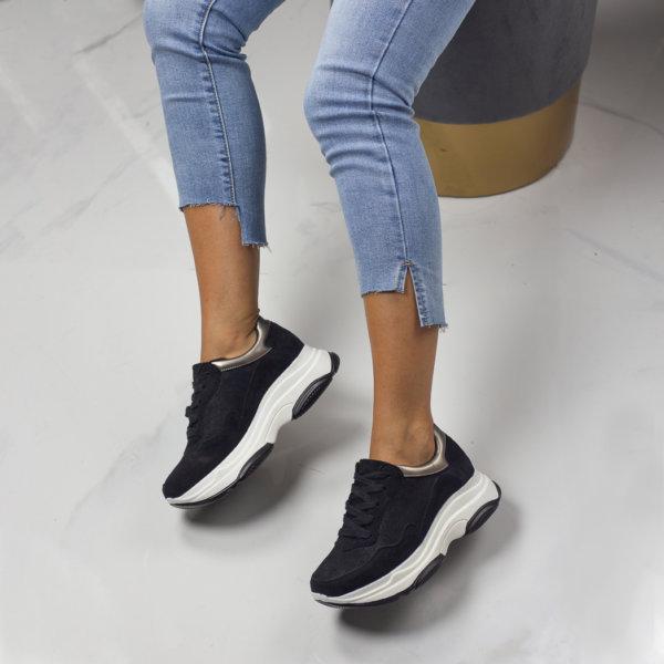 ΑΘΛΗΤΙΚΑ Campbell sneakers μαύρο
