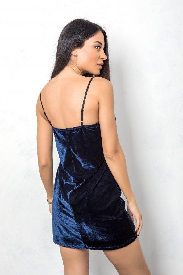 ΦΟΡΕΜΑΤΑ ΠΡΟΣΦΟΡΕΣ Dianna φόρεμα μπλε