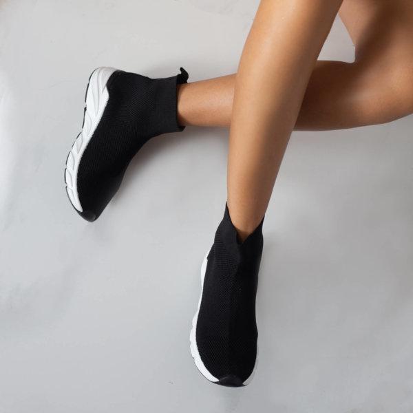 ΑΘΛΗΤΙΚΑ Acelya sneakers μαύρο