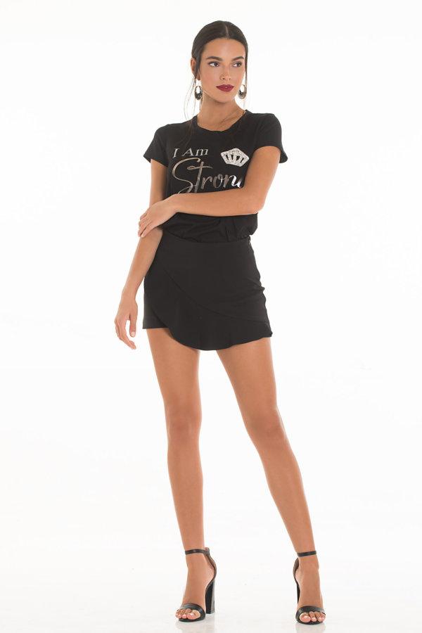 TSHIRTS Nimoue t-shirt μαύρο