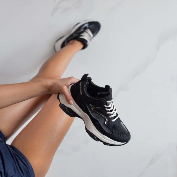 ΑΘΛΗΤΙΚΑ Erenay sneakers μαύρο