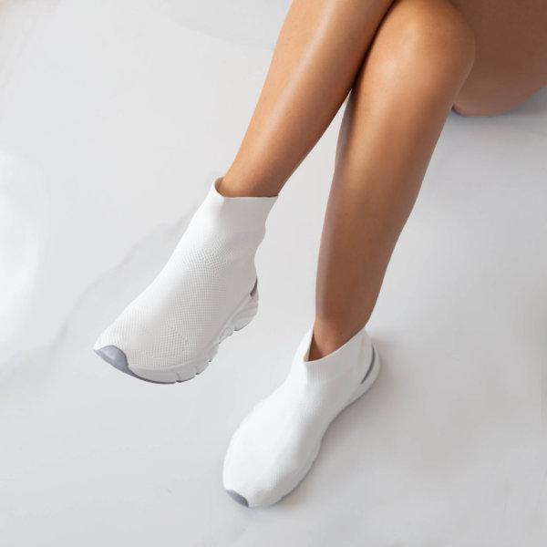 ΑΘΛΗΤΙΚΑ Acelya sneakers λευκό