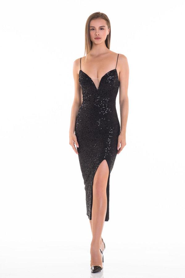 Προσφορές σε φορέματα Summer dance φόρεμα μαύρο