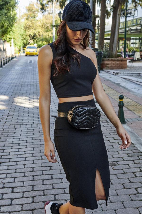 Oluchi φούστα μαύρο