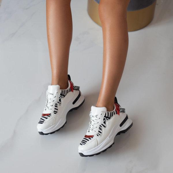 ΑΘΛΗΤΙΚΑ Arsan sneakers λευκό