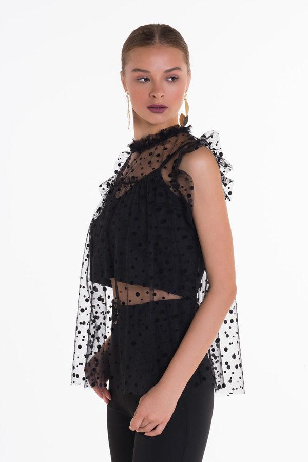 TSHIRTS Lizeth μπλούζα μαύρο