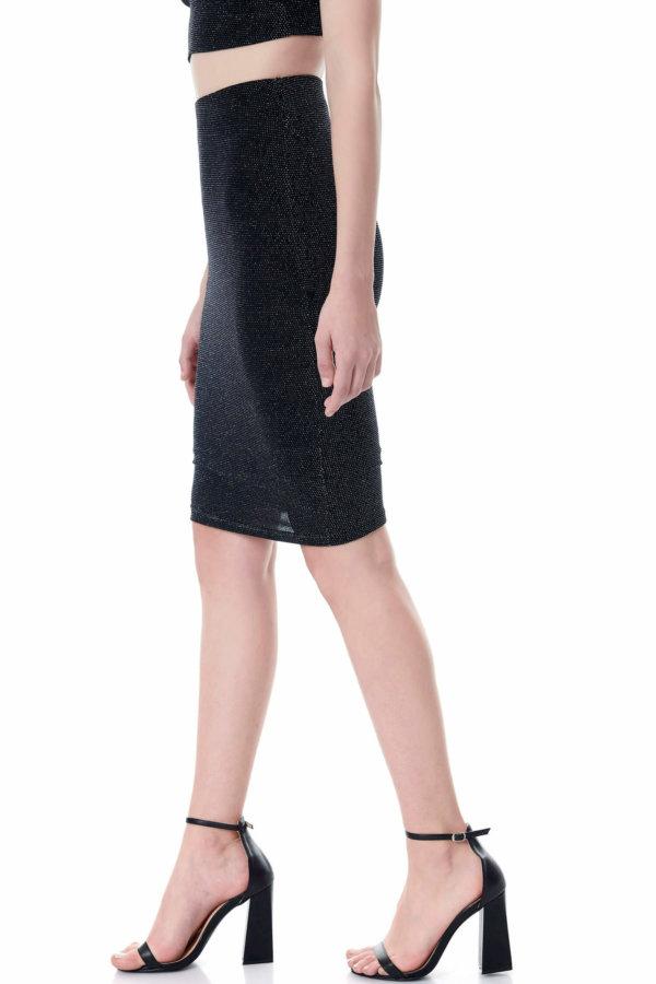 Radella φούστα ασημί