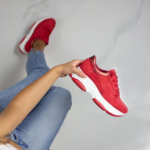 ΑΘΛΗΤΙΚΑ Campbell sneakers κόκκινο