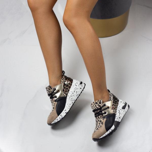 ΑΘΛΗΤΙΚΑ Essex sneakers λεοπάρ
