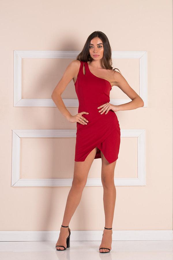 BEST SELLERS Scorpion φόρεμα μπορντό
