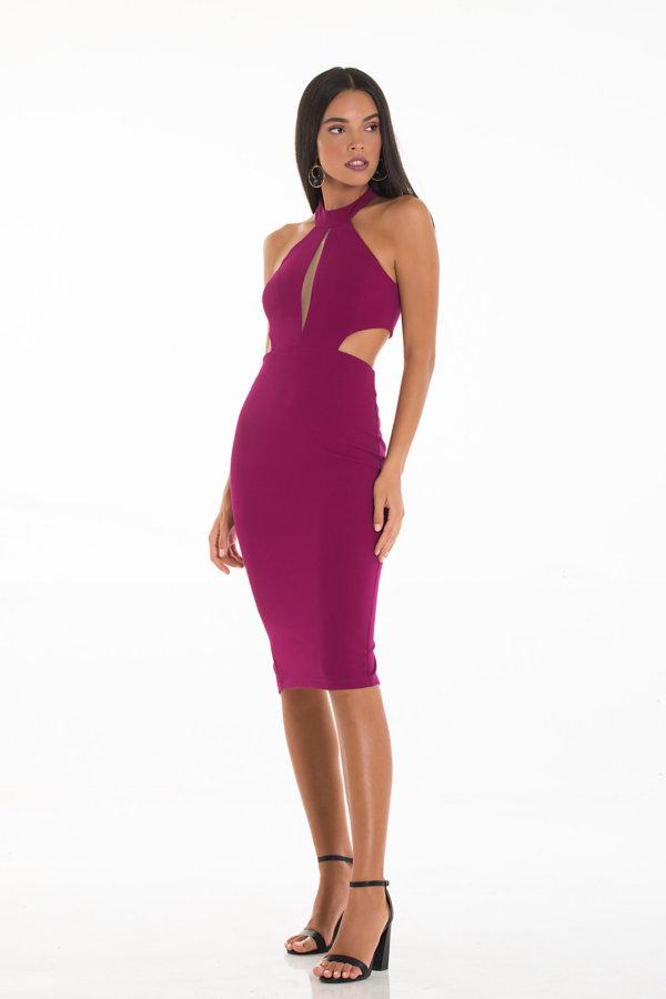 BEST SELLERS Augira φόρεμα μωβ