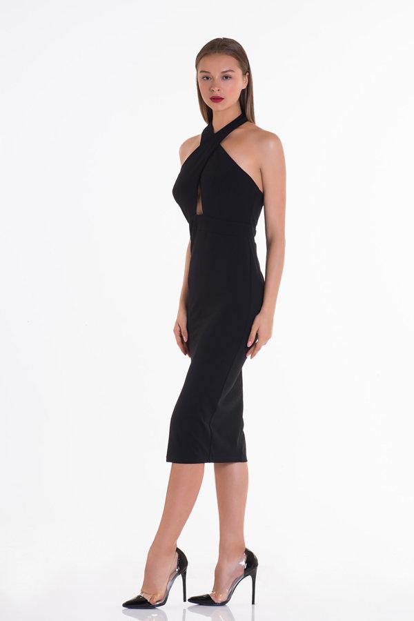 Προσφορές σε φορέματα Free Love Dress μαύρο