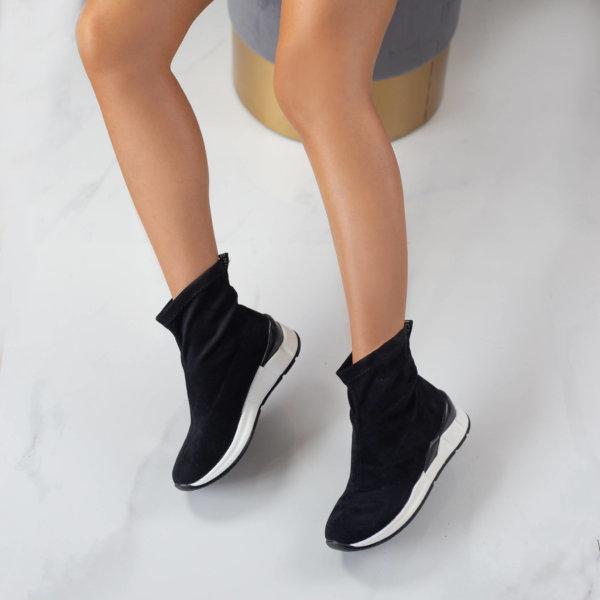 ΑΘΛΗΤΙΚΑ Birgul sneakers μαύρο