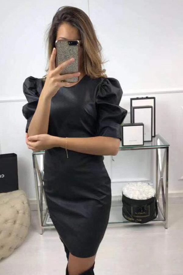 ΜΙΝΤΙ ΦΟΡΕΜΑΤΑ Zaylee φόρεμα μαύρο