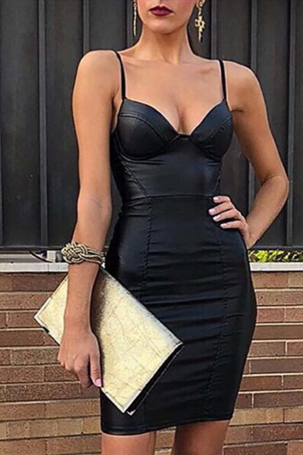 ΜΙΝΙ ΦΟΡΕΜΑΤΑ Jina φόρεμα μαύρο
