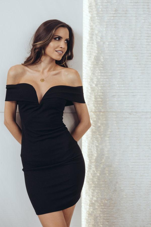 ΦΟΡΕΜΑΤΑ Elfi φόρεμα μαύρο