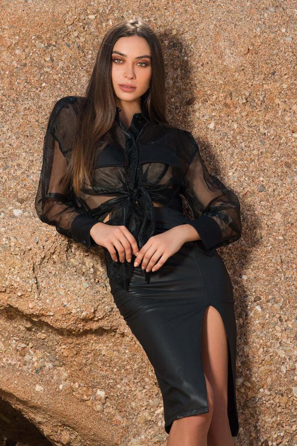 ΦΟΥΣΤΕΣ Isti φούστα μαύρο
