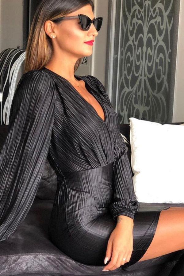 ΜΙΝΙ ΦΟΡΕΜΑΤΑ Leopold φόρεμα μαύρο