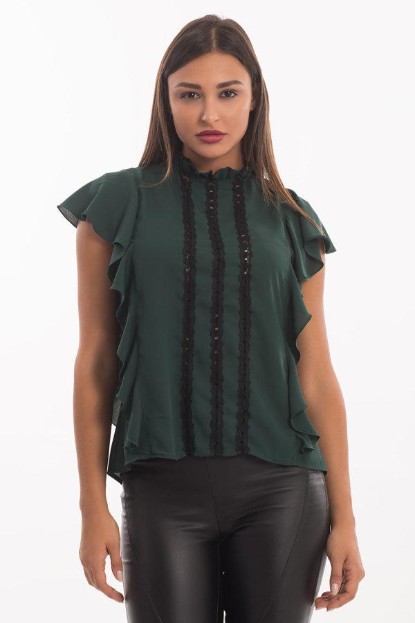 ΤΟΠ Litzy μπλούζα πράσινο
