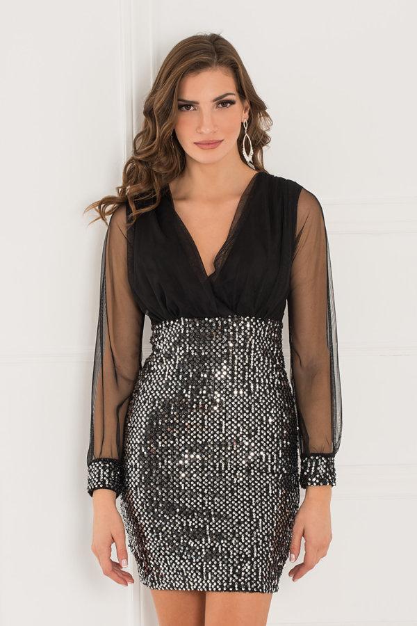 ΜΙΝΤΙ ΦΟΡΕΜΑΤΑ Persuasive φόρεμα μαύρο