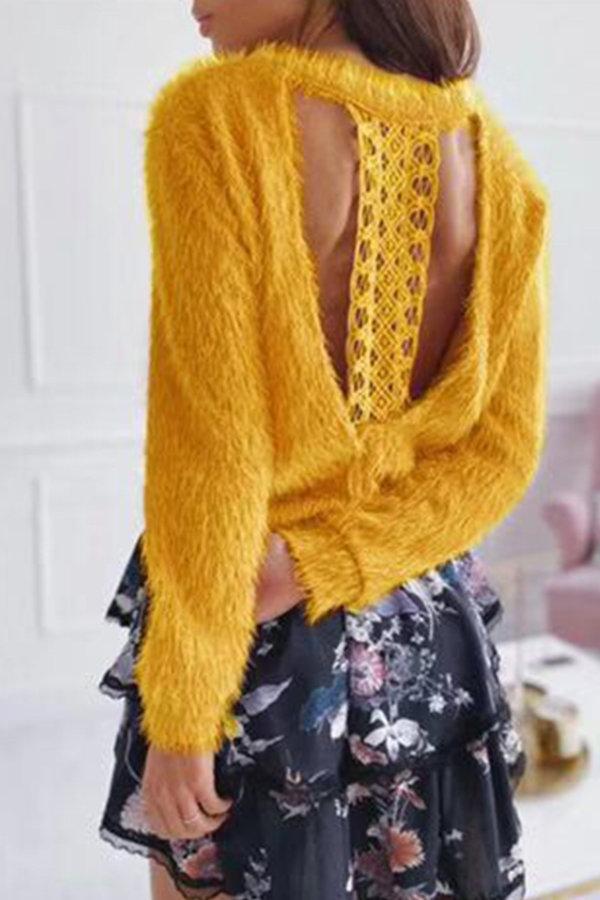 ΤΟΠ Kizzy μπλούζα κίτρινο