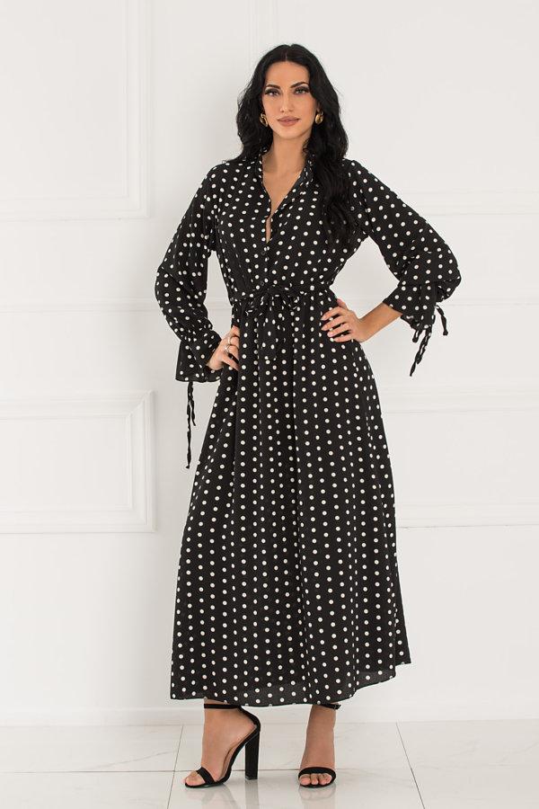 ΜΑΞΙ ΦΟΡΕΜΑΤΑ Gustavus φόρεμα μαύρο