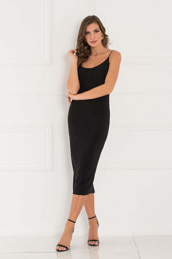 Amnesia φόρεμα μαύρο