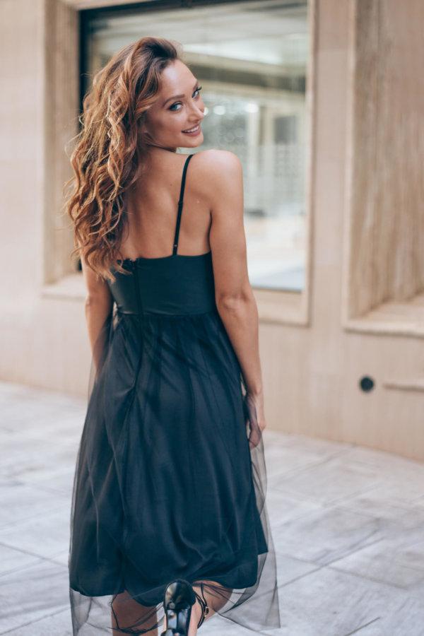 ΜΑΞΙ ΦΟΡΕΜΑΤΑ Luke φόρεμα μαύρο