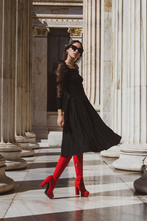 ΦΟΥΣΤΕΣ Jadira φούστα μαύρο