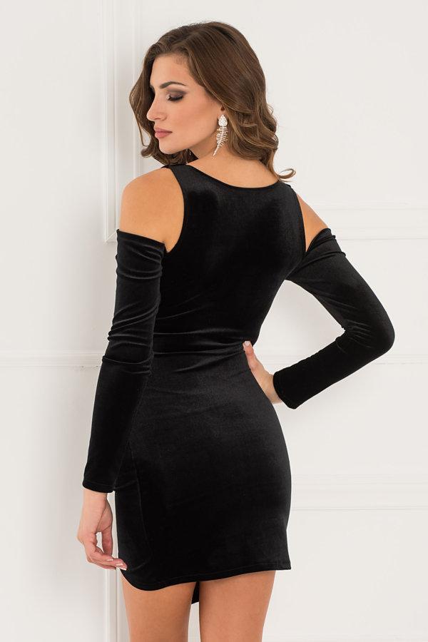ΜΙΝΙ ΦΟΡΕΜΑΤΑ Kyrenia φόρεμα μαύρο