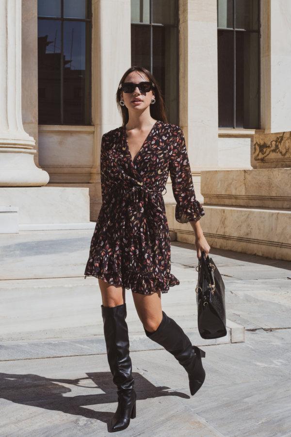 ΜΙΝΙ ΦΟΡΕΜΑΤΑ Bello φόρεμα μαύρο