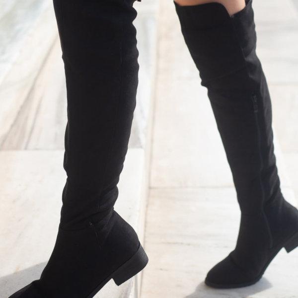 ΠΑΠΟΥΤΣΙΑ Carlotta μπότες μαύρο