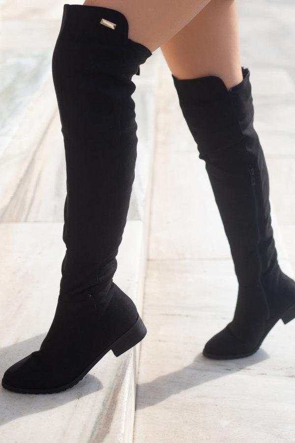 ΜΠΟΤΕΣ Carlotta μπότες μαύρο