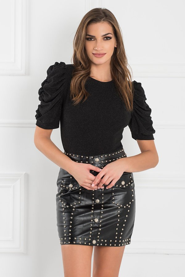 ΜΠΛΟΥΖΕΣ Giavanna μπλούζα μαύρο