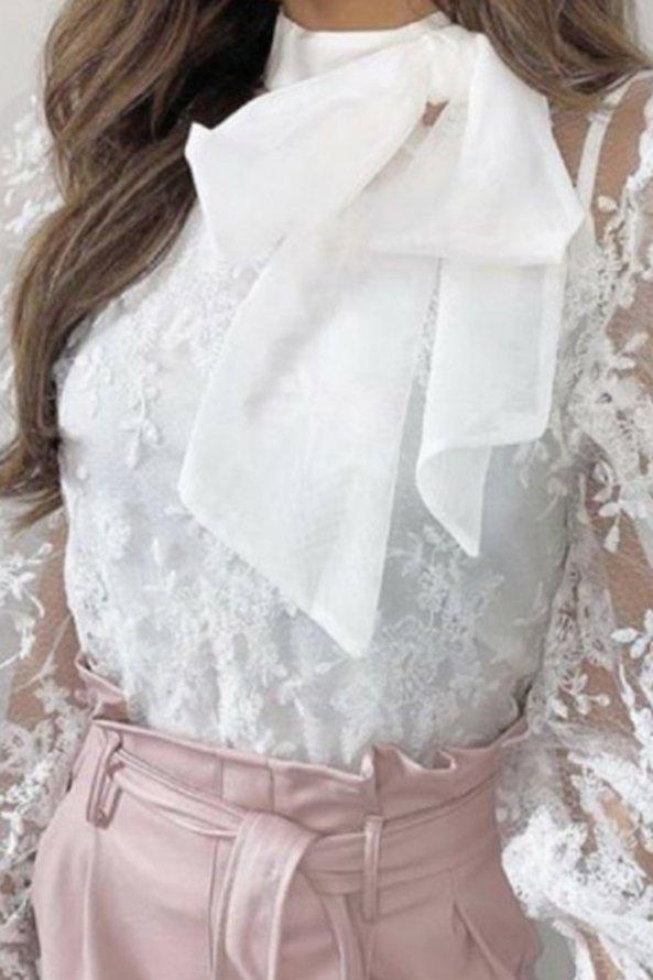 ΠΟΥΚΑΜΙΣΑ Alexandrine πουκάμισο λευκό