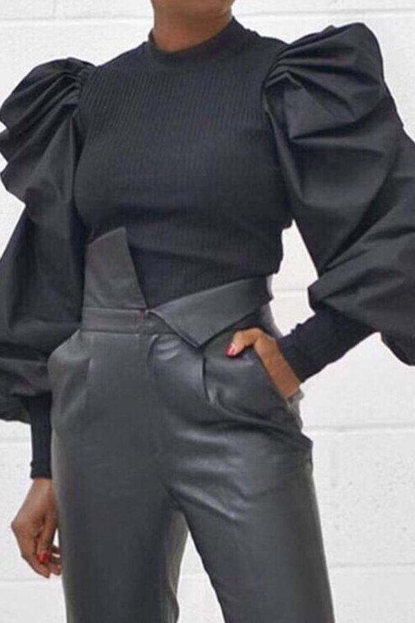 ΜΠΛΟΥΖΕΣ Ayana μπλούζα μαύρο