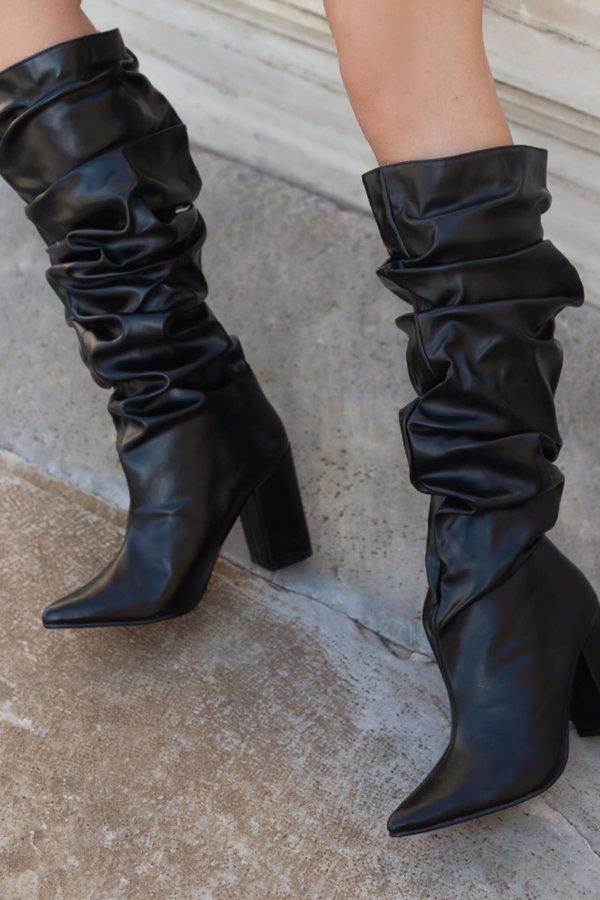 ΜΠΟΤΕΣ Albertine μπότες μαύρο