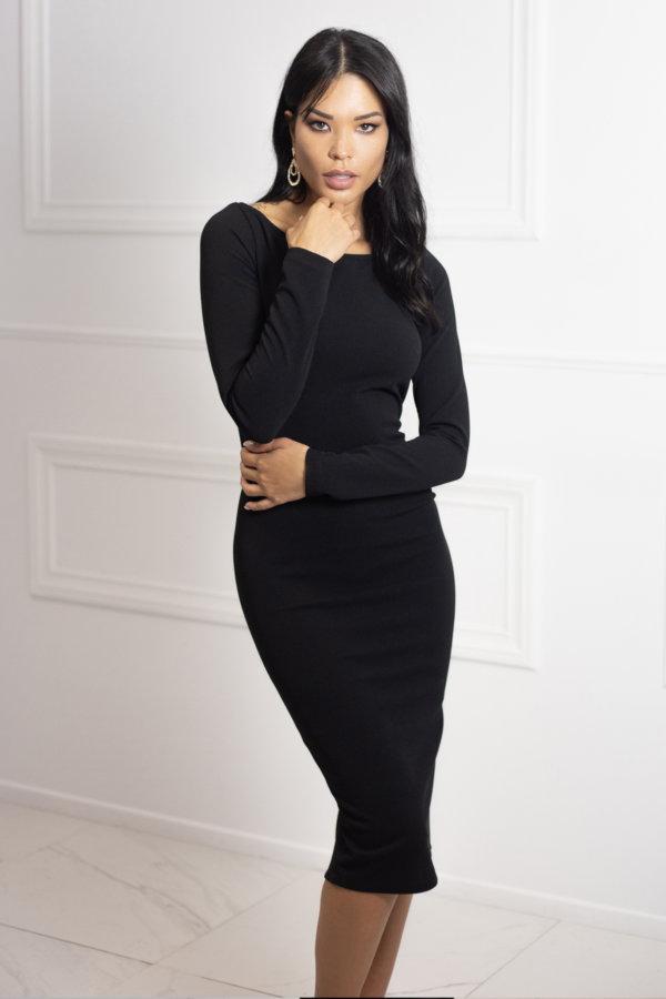 ΦΟΡΕΜΑΤΑ ΠΡΟΣΦΟΡΕΣ Ezequiel φόρεμα μαύρο