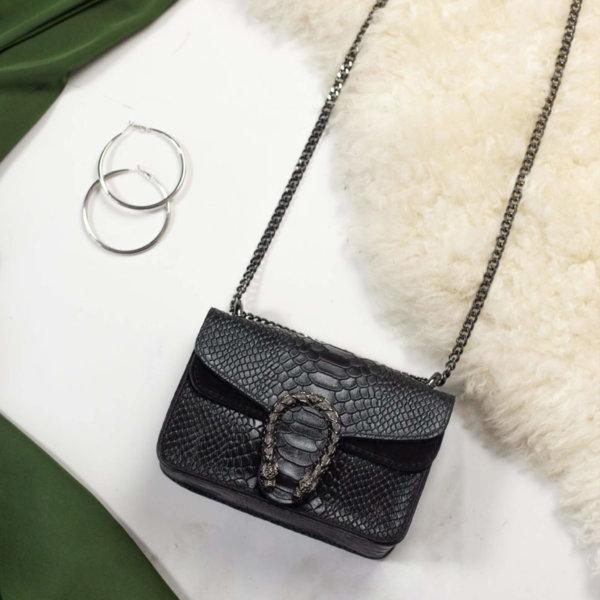 ΤΣΑΝΤΕΣ Onas small τσάντα μαύρο