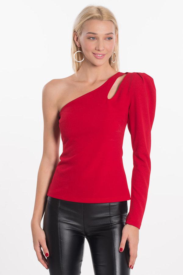 ΠΟΥΚΑΜΙΣΑ Sabby μπλούζα κόκκινο