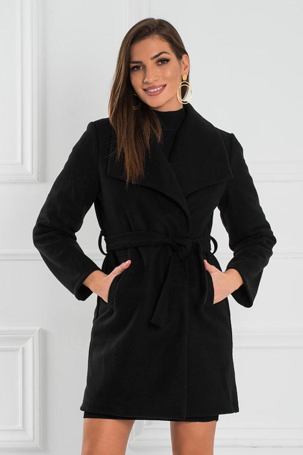 ΠΑΛΤΟ Evgenia παλτό μαύρο