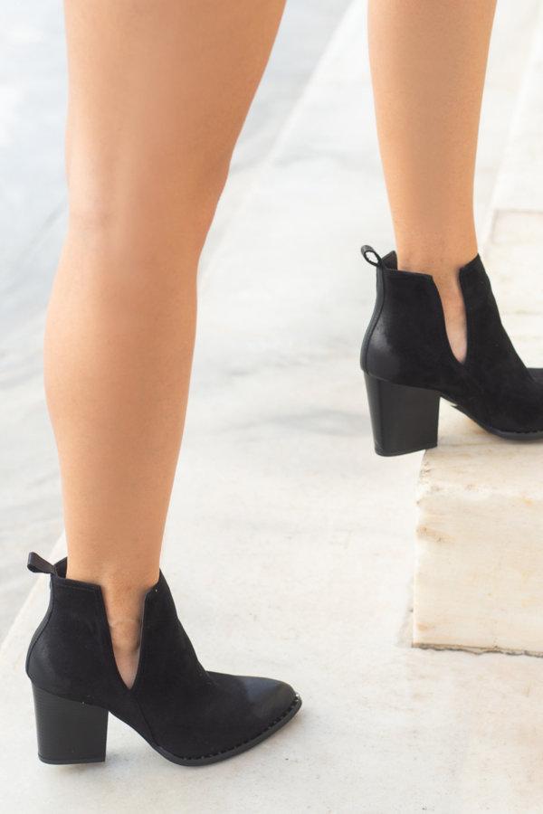 ΠΡΟΣΦΟΡΕΣ Adette ankle boots μαύρο