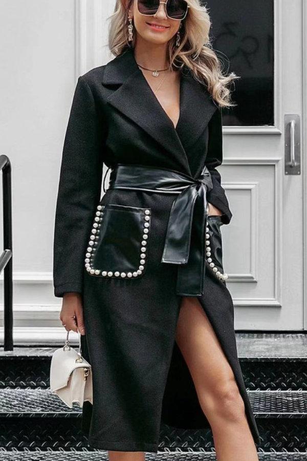 ΠΑΛΤΟ Boorlesque παλτό μαύρο