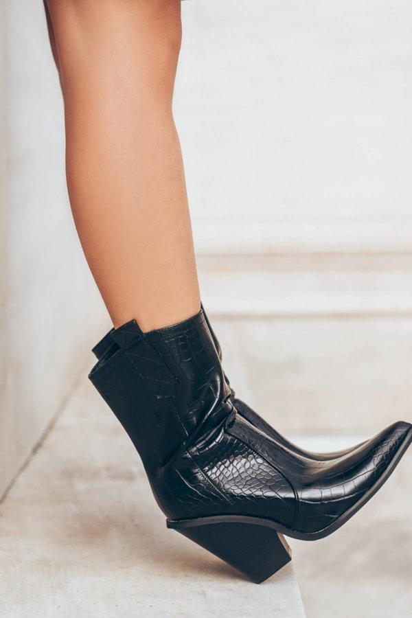 ΜΠΟΤΕΣ Annik boots μαύρο