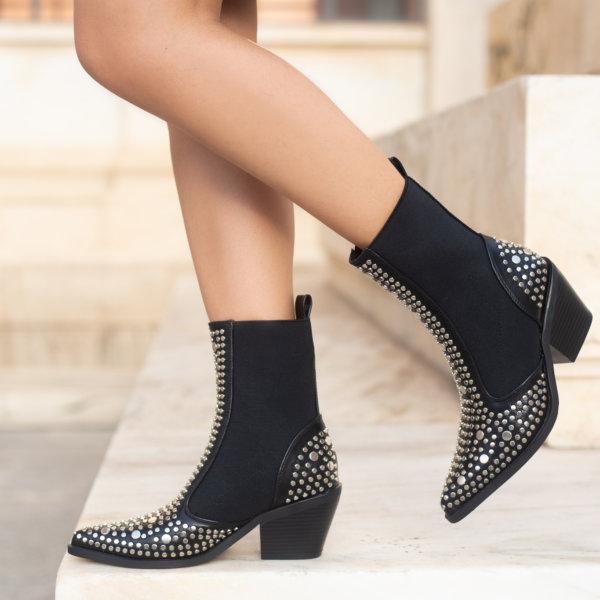 ΠΑΠΟΥΤΣΙΑ Arinka ankle boots μαύρο